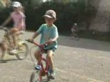 1ers tours de vélo de Thomas sans les petites roues
