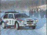 Rally Lancia Delta S4 (integrale groupe B WRC)