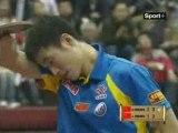 Finale Tennis de Table (Open de Chine)Wang Hao vs Wang Liqin