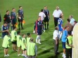 Fin de FC Libourne St Seurin - Cassis Carnoux