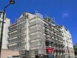 Nantes : ravalement de façade rue Crucy