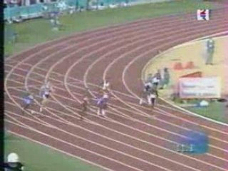 Athletisme - Michael Johnson 19.32 WR atlanta olympic games