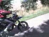 Stunt débutant en Rieju SMX