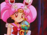 Sailor moon et Sailor Chibi Moon