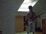 Guitare Sum 41- Pieces