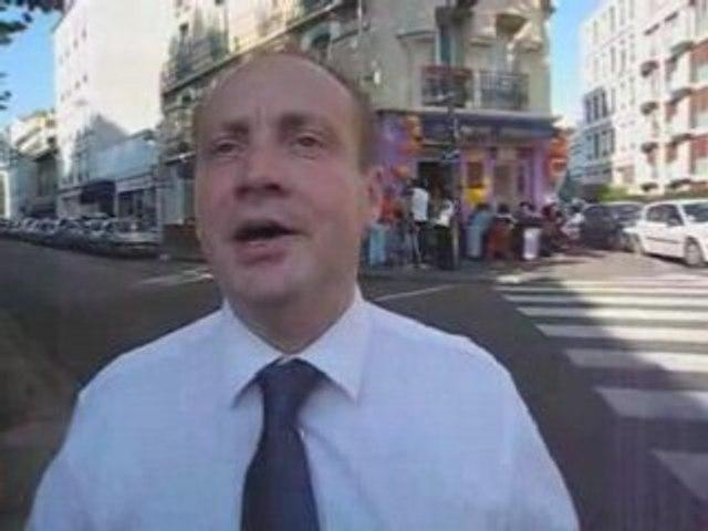Pierre Creuzet, candidat à la présidence du MoDem 92