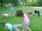 Jeux dans le parc (mini-camp voile 7-10 ans)