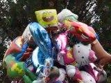 Nantes : bouquet de ballons