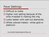Pave Ring Settings