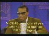 michael, hommage, louis Farrakhan, 1994, Arsenio Hall, magnifique
