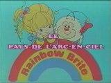 Rainbow brite blondine le pays couleur de l'arc en ciel