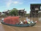 Cambodge-Kampong Phluk-lac Tonle Sap