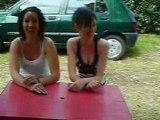 camping carnac visite de la tente!!