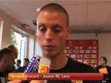 INTERVIEWS STAFF ET JOUEURS RC LENS ET VAFC