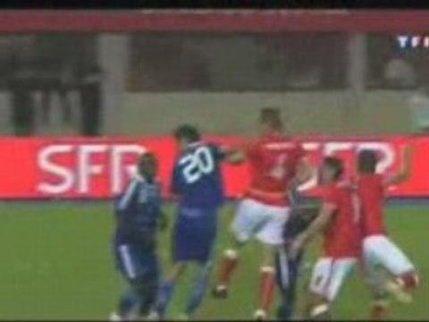 L'Autriche fait valser La France (3-1) world cup 2010 fifa