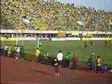 BENIN-ANGOLA (3-2) :Troisième but béninois, Omotoyossi