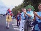 Marathon du médoc  2008 7 ème  partie avec mario