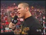 WWE Raw 08/09 Randy Orton in the ring,Ted Dibiase,Cody,Manu