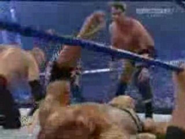 Raw Scramble Match 2-3