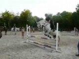 Nora et moi, saut détente cross mais saut pourri xD