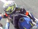ARRIVEE 24 HEURES MOTO 2008 LUCAS DE CAROLIS