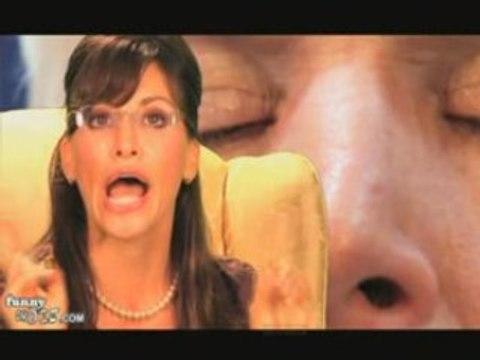 Gina Gershon Strips Down Sarah Palin from Gina Gershon
