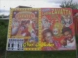 Matériel du cirque Lydia Zavatta