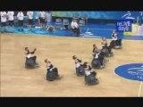 Rugby fauteuil, haka néo-zélandais - Jeux paralympiques 08