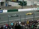 Départ Formula Renault 3.5 - World Series Le Mans 2008