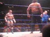 Batista & Rey Mysterio vs Finlay & The Great Khali 4/11