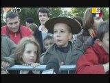 Les jeunes à Lourdes
