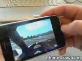 DEMO of new 3G iPhone 3D RACING game  (iPhone 3G Apps Games)