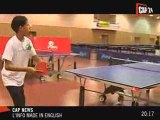 Olympics: two junior ping-pong players go to Beijing