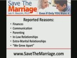 Why Marriages Fail:  Why Divorces Happen