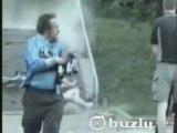 WAHOU violente chute en vélo