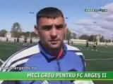 Meci greu pentru FC Arges II