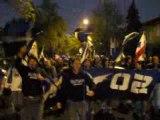 Ultras Montréal - marche vers le stade (1)