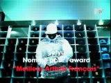 Sefyu nomin� � artiste fran�ais de l'ann�e � aux MTV Europe Music Awards