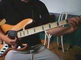 Slap Bass on Bernard Purdie Groove (2)