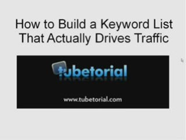 Finding Keywords That Send Traffic
