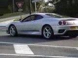 3 Ferrari F360 modena stradale + 1 F430 + F360 modena