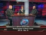 UFC INTERVIEW BROCK LESNER VS RANDY COUTURE