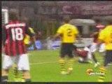 Calcio 2009 : J 3 : AC Milan - Lazio Rome : 4-1