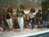 Chorégraphie Danse hip hop aux galeries Lafayette