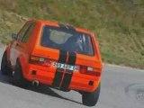 Montée historique Orcières 2008 orange mécanique Golf 1
