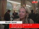 Nicole Jamet Que pensez-vous de ce projet de loi?