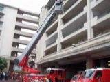 intervention de pompier a la caserne magnan