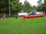 Dixie entrainement d'agility du 24/09/2008 2ème parcours