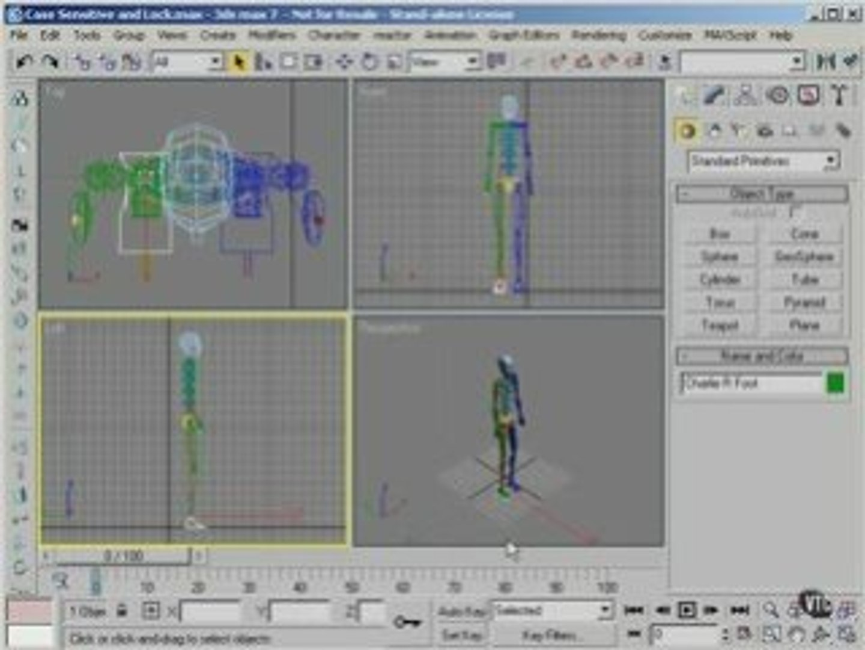 3Ds max tutorials 6