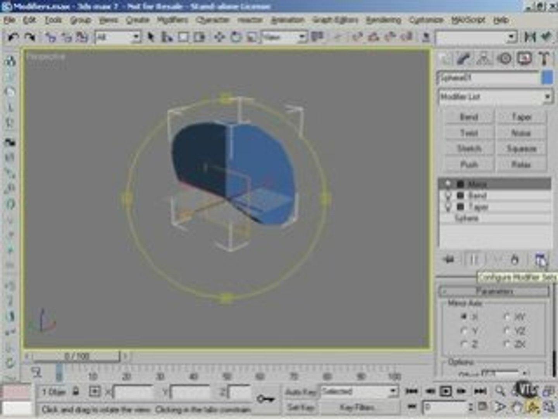 3Ds max tutorials 8: